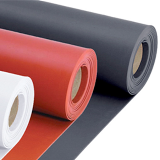 The role in red is Ultra soft conductive rubber